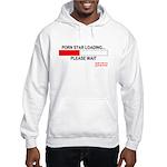PORN STAR LOADING... Hooded Sweatshirt