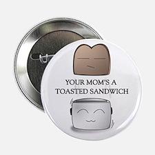 Your Mom Joke Cute Drawing Button