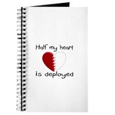 Half My Heart Is Deployed Journal