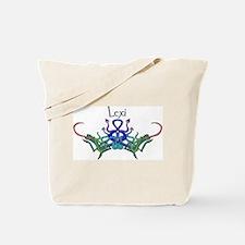 Lexi's Celtic Dragons Name Tote Bag