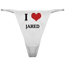 I Love Jared Classic Thong