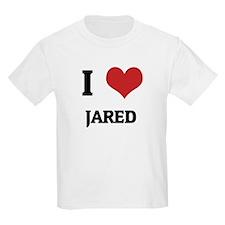 I Love Jared Kids T-Shirt