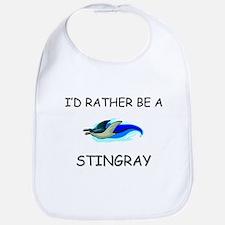 I'd Rather Be A Stingray Bib