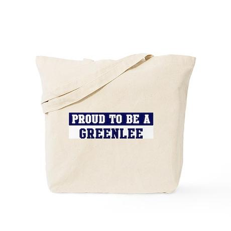 Proud to be Greenlee Tote Bag