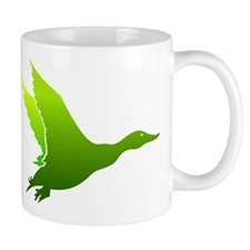 DUCK IN FLIGHT, FLYING DUCK MUG