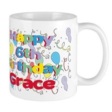 Grace's 6th Birthday Mug
