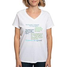 Breaking Dawn Quotes Shirt