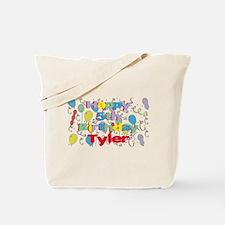 Tyler's 5th Birthday Tote Bag
