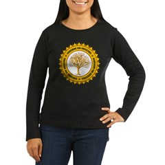 Searching For Women's Long Sleeve Dark T-Shirt