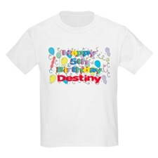 Destiny's 5th Birthday T-Shirt