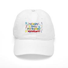 William's 5th Birthday Baseball Cap