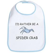 I'd Rather Be A Spider Crab Bib