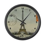 Eiffel tower Giant Clocks