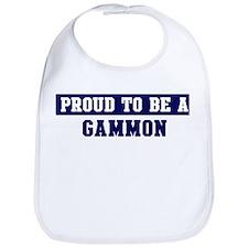 Proud to be Gammon Bib