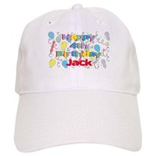 Jack's 4th Birthday Baseball Cap