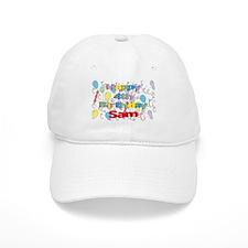 Sam's 4th Birthday Baseball Cap