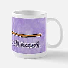 have broom, will travel Mug