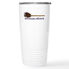 have broom, will travel Travel Mug