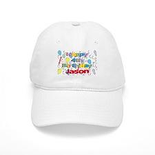 Jason's 4th Birthday Baseball Cap
