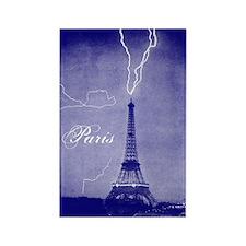 Paris Vintage Photo Rectangle Magnet