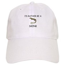 I'd Rather Be A Skunk Baseball Cap