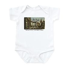 Munich Old Engraving Infant Bodysuit