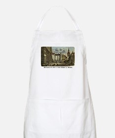 Munich Old Engraving BBQ Apron