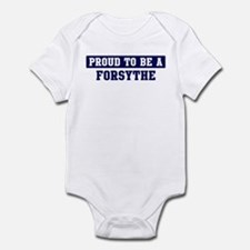 Proud to be Forsythe Infant Bodysuit
