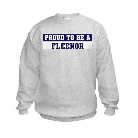 Proud to be Fleenor Kids Sweatshirt