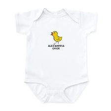 Alexandria Chick Infant Bodysuit