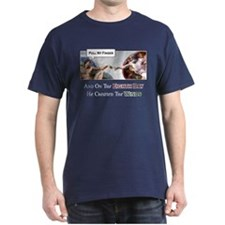 Creation of Man - 8th Day T-Shirt