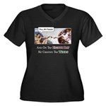 Creation of Man - 8th Day Women's Plus Size V-Neck
