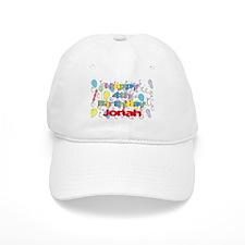 Jonah's 4th Birthday Baseball Cap