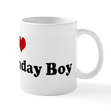 I Love The Birthday Boy Mug