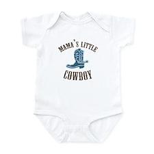 MAMA'S LITTLE COWBOY Infant Bodysuit
