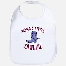 MAMA'S LITTLE COWGIRL Bib