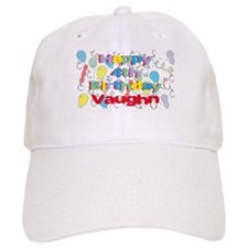 Vaughn's 4th Birthday Baseball Cap