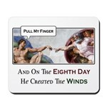 Creation of Man - 8th Day Mousepad