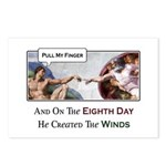 Creation of Man - 8th Day Postcards (Package of 8)