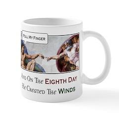 Creation of Man - 8th Day Mug