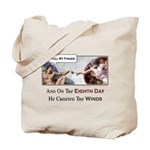 Creation of Man - 8th Day Tote Bag
