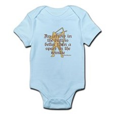 Arrow vs. Spear Infant Bodysuit
