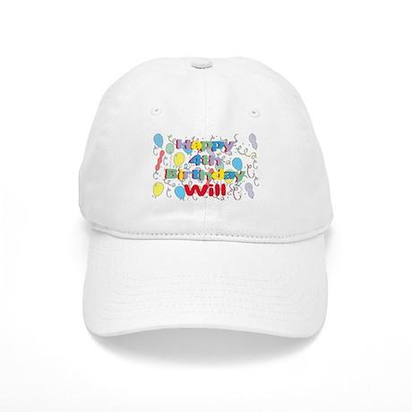Will's 4th Birthday Cap