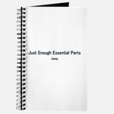 Just Enough Essentail Parts Journal