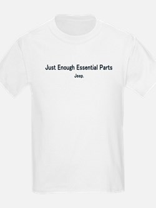 Just Enough Essentail Parts Kids T-Shirt