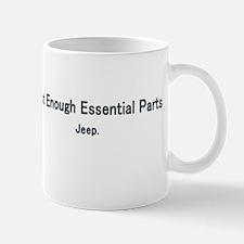 Just Enough Essentail Parts Mug