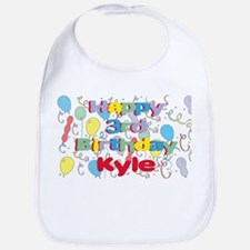 Kyle's 3rd Birthday Bib