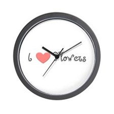 Florist Wall Clock