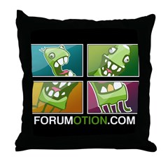 Picassomotion Throw Pillow
