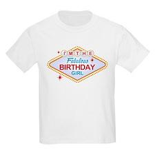 Las Vegas Birthday Girl T-Shirt